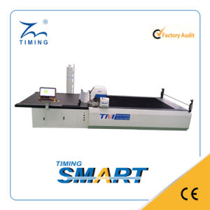 Timing High Ply Fabric Cutting Machine for Garment pictures & photos