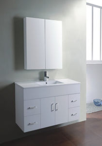 Australia Style Painting MDF Bathroom Vanity with Sink (SW-W750B) pictures & photos