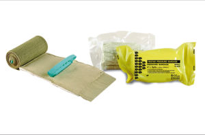 Survival New Tech Stop Bleeding High Strength Pressure Emergency Green Army Military Bandage pictures & photos