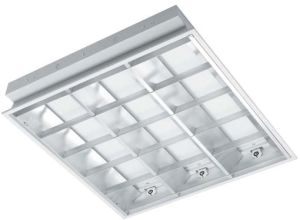 T5 Recessed Louver Grille Recessed Troffer Light for Commercial Lighting (ROT215) pictures & photos