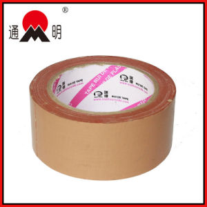Customize Logo Adhesive Kraft Paper Tape for Packing pictures & photos