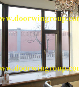 Villa Construction Aluminum Solid Teak Wood Windows pictures & photos