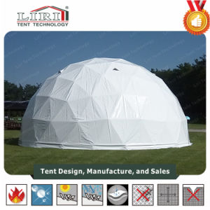 Special Designed Half Sphere Tent with Air Conditioner for Sale pictures & photos