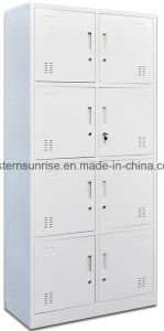 Wholesale Powder Coating 8 Door Metal Steel Locker pictures & photos