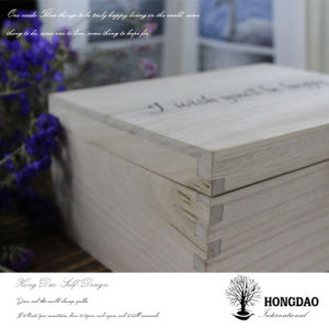 Hongdao Handmade Pine Wood Gift Box pictures & photos