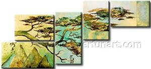 Welcoming Pine Landscape Oil Painting pictures & photos