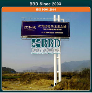 Highway Useful Steel Structure Advertising Unipole