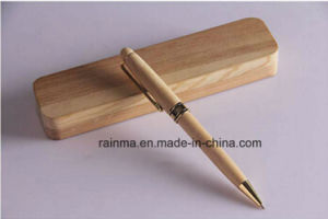 High Qualiy Wooden Metal Ball Pen Set for Business Gift pictures & photos