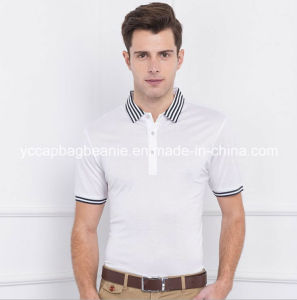 Men′s Cotton Polyester Polo T-Shirt, Polo T Shirt pictures & photos