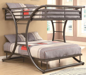 Uptown Full Over Full Metal Bunk Bed pictures & photos