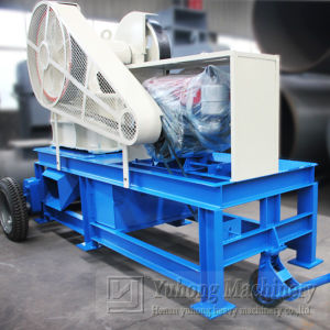 Yuhong Small Mining Crushing Plant Mini Diesel Jaw Crushers pictures & photos