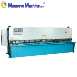 CNC Cutting Plate Hydraulic Swing Beam Shearing Machine (MM-KHTD4006) pictures & photos