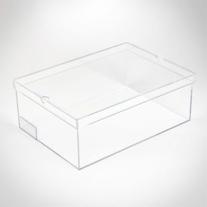 High Quality Clear Transparent Acrylic Shoe Box pictures & photos