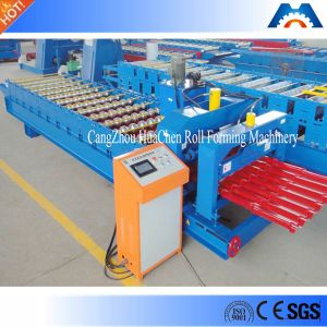 High Output Metal Roof Tile Roll Forming Machine
