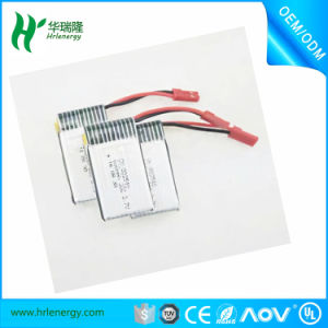 3.7V/600mAh Li-ion Polymer Battery for R/C Model pictures & photos