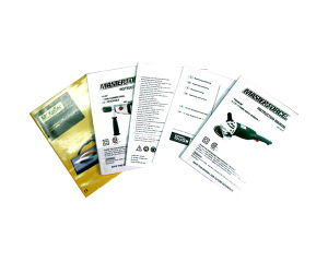 Custom A5 Offset Printed Instruction Manual