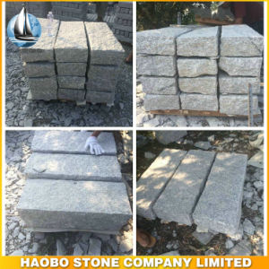 Supply Cheap Grey Granite Kerbstone From Xiamen Factory pictures & photos