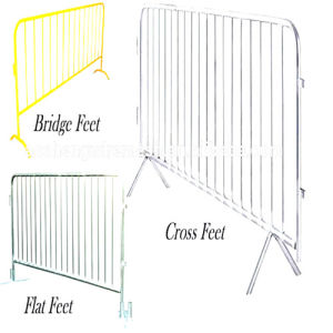 Paint Crowd Control Barrier (AS-589/professional/manufacture/best price and good quality)