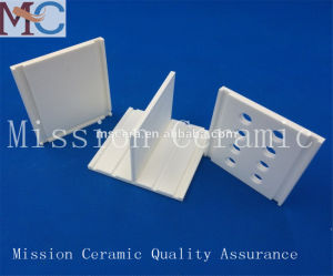 Tight Tolerance High Density Insulating Heating Alumina Ceramic Plates pictures & photos