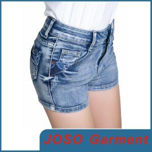 Women Denim Mini Shorts (JC6003) pictures & photos