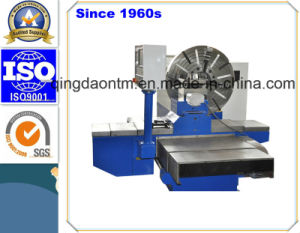 Professional Customized Horizontal Lathe Machine with Inclined Guide pictures & photos