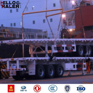 China Manufacture Tri Axles Trailer for Transport Fleet pictures & photos