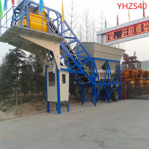 Mobile Concrete Mixing Plant 25cbm/H (YHZS25) pictures & photos