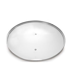 Cookware Glass Lid Fry Pan Glass Lid Glass Cover pictures & photos