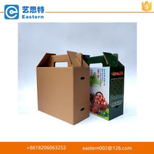 with Handle Cherry Fruit Packing Paper Box pictures & photos