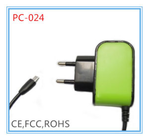 1.2A Micro European Plug Phone Adapter (PC-024)