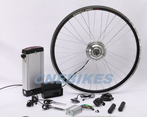 250W Geared Electric Bicycle Motor Kit with Rack Type Battery pictures & photos