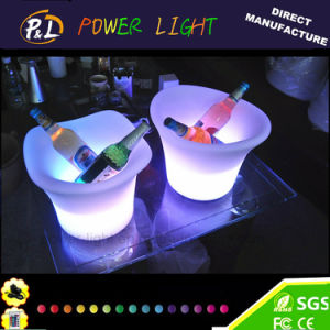 Bar Furniture Waterproof Illuminated Small LED Ice Cooler pictures & photos