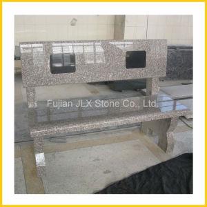 Pink Stone Granite Bench in Garden & Park pictures & photos