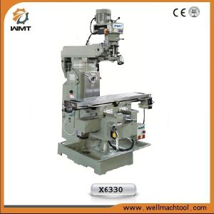 Turret Milling Machine X6330 for metal drilling pictures & photos
