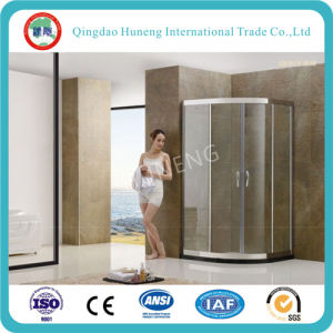Tempered Shower Room /Shower Door Glass (clear, acid, figured all available) pictures & photos