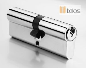 Economy Euro Secure Double Cylinder Lock Chrome Plating pictures & photos