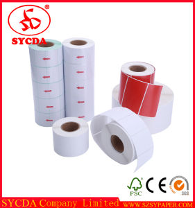 Cast Coated Good Funtion Thermal Self Adhesive Label Paper pictures & photos