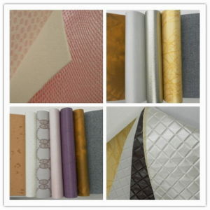 PU Leather for Decoration, Upholstery (48-10) pictures & photos