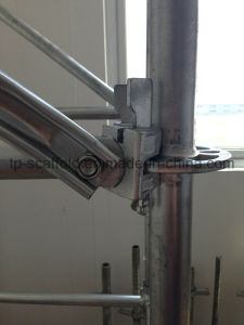 Construction Material Hot DIP Galvanized Ringlock Scaffolding System (TPCTRS002) pictures & photos