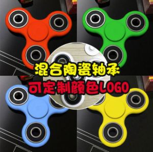 2017 Hand Spinner Toys Finger Spinner Tri Finger Fidget Spinner pictures & photos