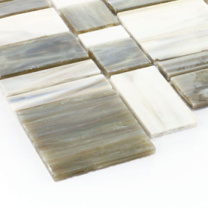 Kitchen Colored Backsplash Building Materials Pieces Glass Tiles Mosaic pictures & photos