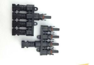 Mc4t-A4 M/FM 4 to 1 Branch 30A Solar Panel Solar Connector Cable pictures & photos