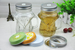 Creative Handle Glass Cup Owl Shaped pictures & photos