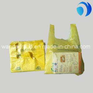 Heavy Duty Take Away Vest Carrier Plastic T-Shirt Bag pictures & photos
