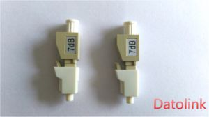 LC/Upc mm 50 125 Beige 7dB Fiber Optic Attenuator pictures & photos