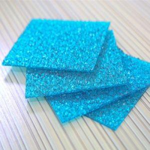 Bronze Polycarbonate Plastic Diamond Embossed Wall Panel pictures & photos