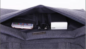 "Practical Shockproof Design Nylon Laptop Messenger Bag, OEM Multi-Functional Laptop Briefcase Bag Fit For13"", 14"", 15"", 15.6"" Laptop pictures & photos"
