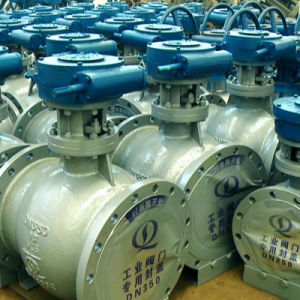 Wcb Double Eccentric Metal Sealing Half Ball Valve pictures & photos