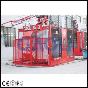 Sc100/100 Construction Passenger Elevator Buidling Construction Material Lift pictures & photos