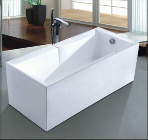 1600mm Rectangle Freestanding Modern Bathtub (AT-6705) pictures & photos